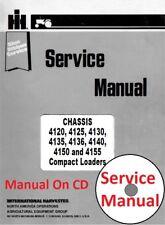 International Harvester Skid Steer Loader Shop Manual GSS-1476-2 On CD