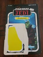 Star Wars Return Of The Jedi Gamorrean Guard  Cardback 80s ROTJ