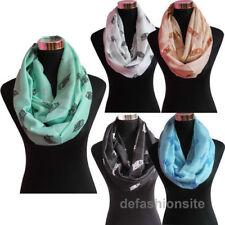 Markenlose Damen-Schals Eule