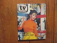 October 9, 1977 Detroit News TV Magazine(ANNETTE  FUNICELLO/DICK  CLARK)