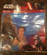 New Star Wars Force Awakens Loot Birthday Party Favor Gift Bags 8 Count
