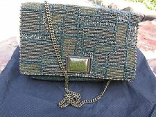 NWT MARY FRANCES OLIVE YOU BEADED PURSE S915