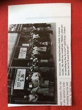 m2r ephemera ww2 reprint picture london civilians queue for potatos