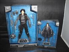 "Disney Star Wars Elite Series Premium Sergeant Jyn Erso-10"" and 6"""