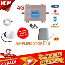 Kit Amplificatore Ripetitore Segnale Antenna GSM UMTS 4G LTE Cellulare DISPLAY