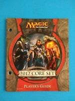 2012 Core Set Player's Guide MTG Magic the Gathering M12