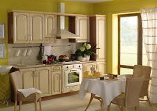 Küche, Schränke, Küchenzeile erweiterbar Syberische Birke Patina 2 Neu&Schnell