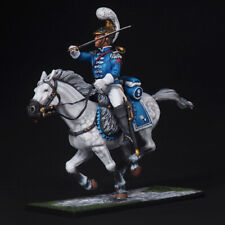 Tin soldiers, 54mm,French trumpeter of carabiniers in battle. 1812.NEW