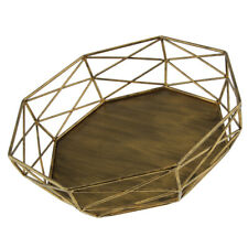 Metal Wire Cake Tray Dessert Wedding Event Party Display Pedestal Plate