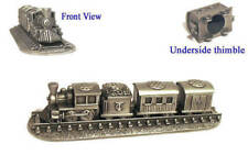 Thimble Train Set Pewter Made In England Collectible Thimbles NEW