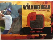 WALKING DEAD Season 1 Cryptozoic RICK'S FIRST KILL Wardrobe M18