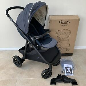 Graco Time 2 Grow Pushchair Navy Blue RRP £200