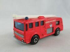 Matchbox Lesney 35 Merryweather fire engine