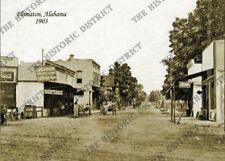 "Flomaton, Alabama 1903 5x7"" Historic Sepia Photo Reprint FREE SHIPPING!"
