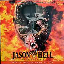 Friday the 13th Part 9: Jason Goes to Hell Laserdisc UNRATED DIRECTORS CUT