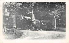 Lenox, Ma, Gate At Eastover Resort, People In Horse Drawn Carriage used 1954