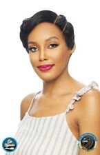 TRJJ TIESO - VANESSA HUMAN HAIR BLEND BRAIDED DOUBLE PART LACE FRONT WIG