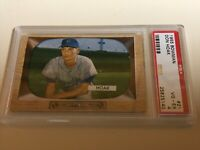 1955 Bowman Don Hoak #21 PSA 4 counterfeit proof new holder great color