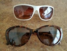 Identity Brown Tort And White Sunglasses Lot Of 2 Used Very Nice