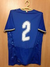 ITALY NATIONAL TEAM 2008/2009 PLAYER ISSUE HOME FOOTBALL SHIRT JERSEY PUMA #2