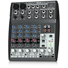 BEHRINGER XENYX 802 analog mixer from japan