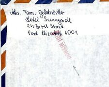 CM76 South Africa 1982 *DONKIN HILL* Postmark Missionary Mail Cover MIVA Austria