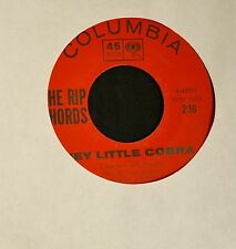 CLEAN COPY The Rip Chords Columbia 42921 Hey Little Cobra and The Queen