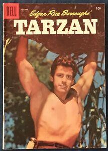 Tarzan #86  Nov 1956  Gordon Scott