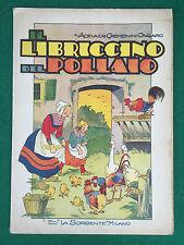 CREMONINI ONGARO - IL LIBRICCINO DEL POLLAIO , La Sorgente (SD) Libro illustrato