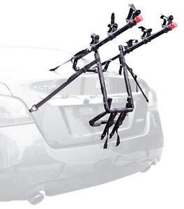 3 Bike Trunk Rack Rear Mount Three Bicycle Carrier Car SUV Sedans Fit Sturdy Arm