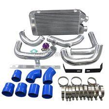 Front Mount Intercooler Kit+BOV For Nissan S13 S14 240SX RB20 RB25 RB25DET