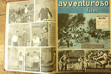 avventuroso  film 1949-50 piola - coppi bartali - squadre calcio ciclismo