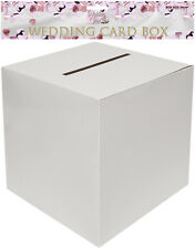 White Card Money Receiving Box Wedding Engagement Birthday Party Decoration
