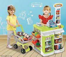 Kids Children Pretend Play Toy Grocery Shop Shopping Supermarket Milk Bar Store