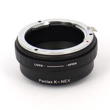 SONY NEX (E mount) raccordo a obiettivo Pentax k senza ghiera diaframma -ID 4700