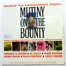 Music To Remember From MUTINY ON THE BOUNTY Sealed LP Soundtrack