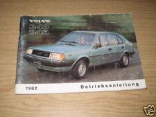 Betriebsanleitung Volvo 343 / 345, Stand 1982