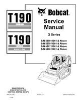 New Bobcat T190 Turbo, Highflow G-Series 2009 Edition Service Manual 6902734