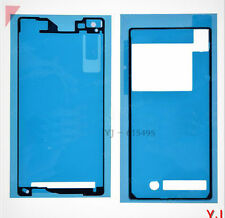 Battery Back + LCD Frame Bezel Plate Adhesive Sticker for Sony Xperia Z2 D6503