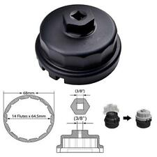 BLK 64mm 14 Flutes Cap Housing Oil Filter Wrench for Lexus ES300h/350 IS250/350