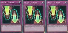 YUGIOH 3 X MAGIC CYLINDER  INCH-EN060 - SUPER   INFINITY CHASERS