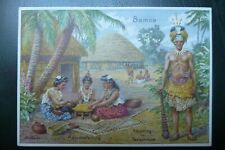 More details for german third reich loss of colonies propaganda postcard samoa