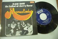"THE MARMALADE""RAIN BOW-disco 45 giri DECCA Italy 1970"""