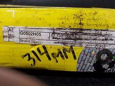 HH20273 G0502H05 24435132 Brake Disc Textar Set of 2 High Carbon Saab Opel Holde