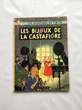 TINTIN LES BIJOUX DE LA CASTAFIORE BD EO FRANCAISE B34 1963 / HERGE / CASTERMAN