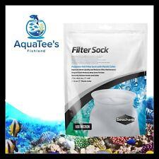 Seachem Filter Socks 100 Micron 17.5x40cm Sump Fish Tank Marine Reef Fresh Water