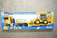 Bruder MAN TGA Low Loader Kids Play Toy Truck with CAT Bulldozer 02778 NEW 2018