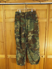 US Army M81 Woodland Camo M65 M-65 Cold Weather Field Pants, Medium Long