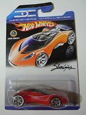 Hot Wheels Designers Challenge Lotus Concept (Red) MOC