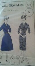 1950s Era Dresses Women's Collectable Sewing Patterns